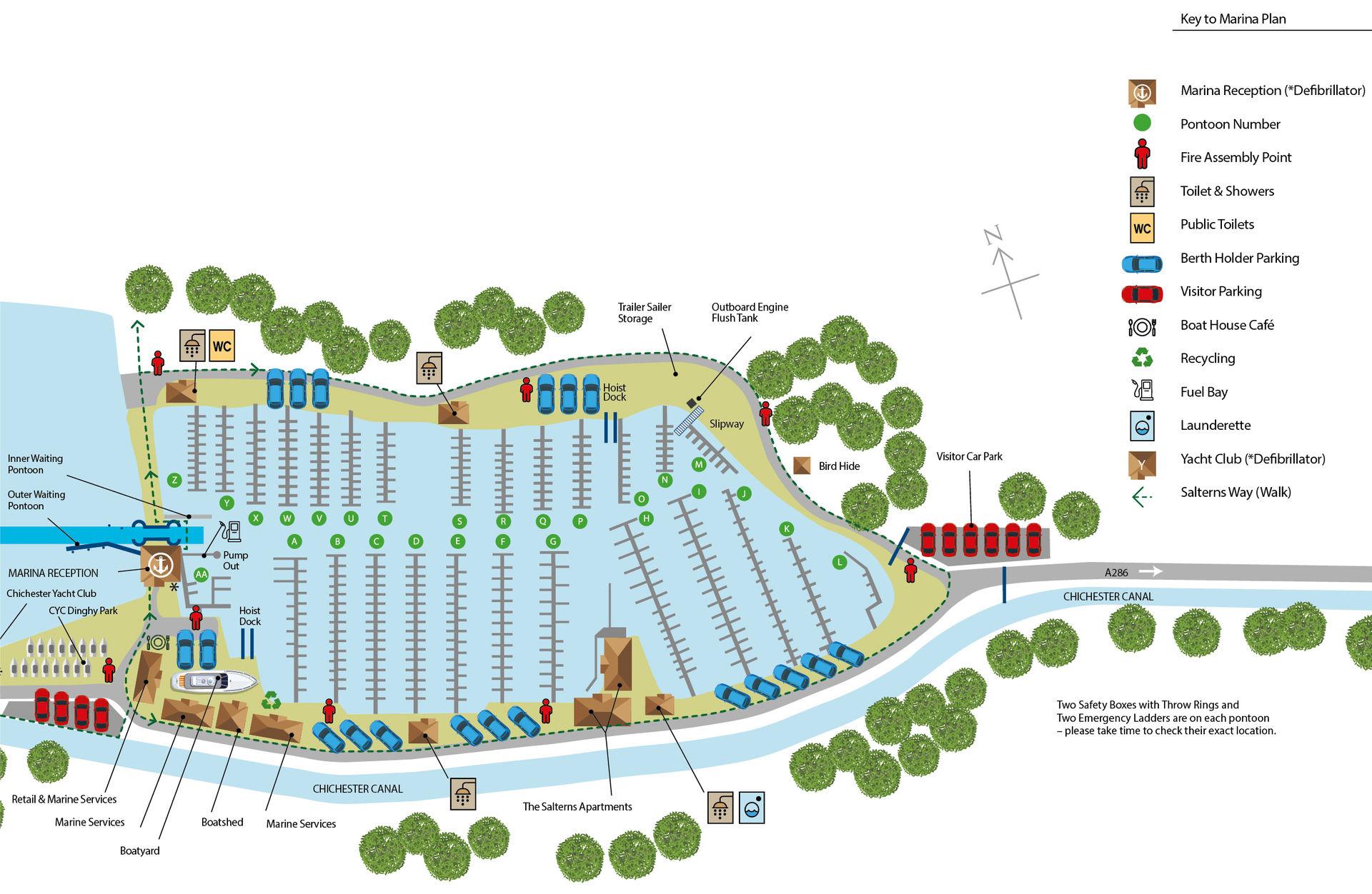 Chichester Marina Plan
